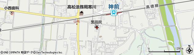 繁昌院周辺の地図