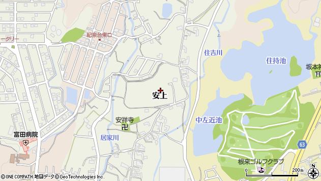 〒649-6252 和歌山県岩出市安上の地図