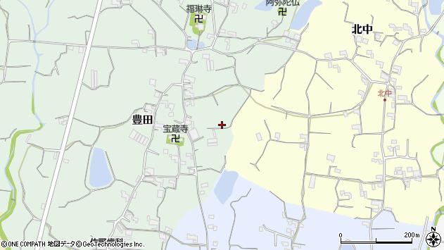 〒649-6445 和歌山県紀の川市豊田の地図