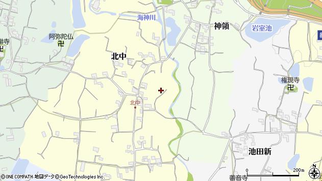 〒649-6443 和歌山県紀の川市北中の地図