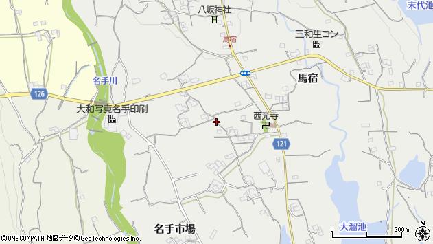 〒649-6521 和歌山県紀の川市馬宿の地図