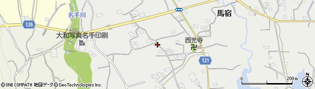 和歌山県紀の川市馬宿周辺の地図