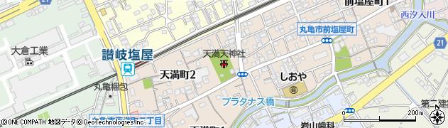 天満天神社周辺の地図