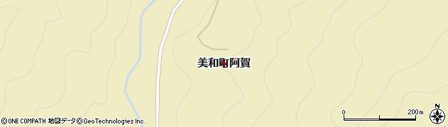 山口県岩国市美和町阿賀周辺の地図