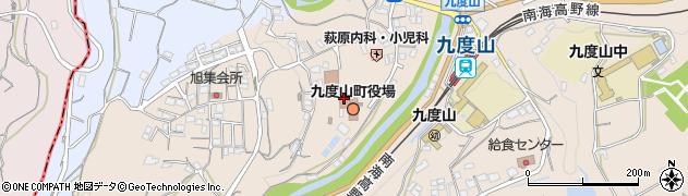 紀陽銀行九度山支店周辺の地図