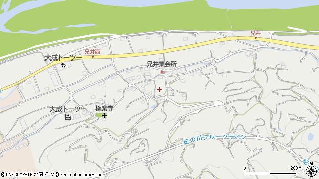 〒649-7137 和歌山県伊都郡かつらぎ町兄井の地図