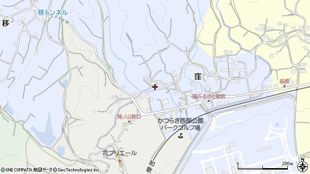 〒649-7164 和歌山県伊都郡かつらぎ町窪の地図