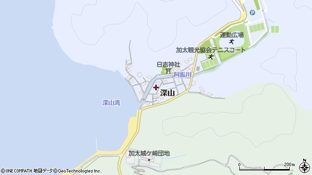 〒640-0102 和歌山県和歌山市深山の地図