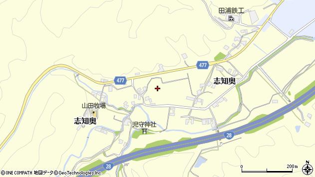 〒656-0325 兵庫県南あわじ市志知奥の地図