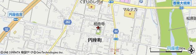 相念寺周辺の地図