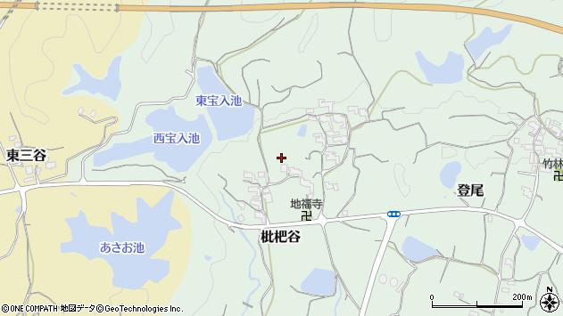 〒649-6446 和歌山県紀の川市枇杷谷の地図