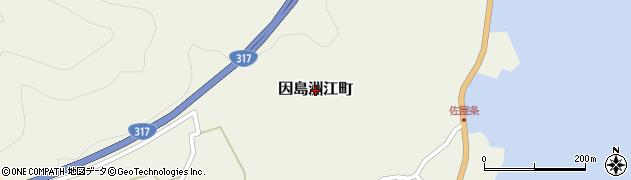 広島県尾道市因島洲江町周辺の地図