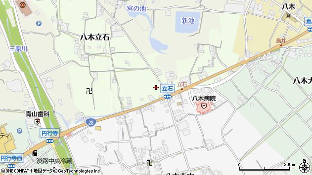 〒656-0435 兵庫県南あわじ市八木立石の地図