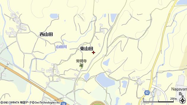 〒649-6441 和歌山県紀の川市東山田の地図