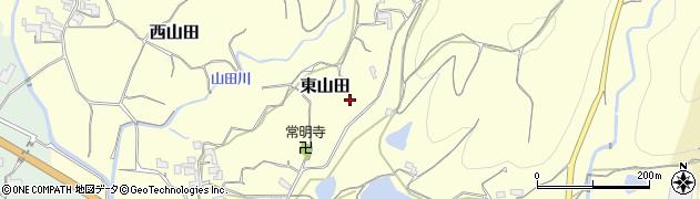 和歌山県紀の川市東山田周辺の地図