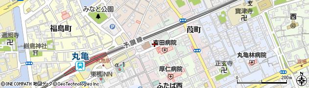 香川県丸亀市宗古町周辺の地図