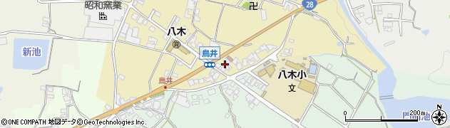 霊法会淡路講堂駐車場周辺の地図