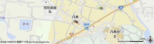 八木周辺の地図