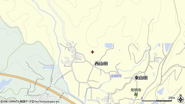 〒649-6447 和歌山県紀の川市西山田の地図