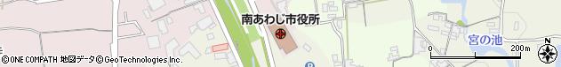 兵庫県南あわじ市周辺の地図
