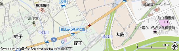 蛭子周辺の地図