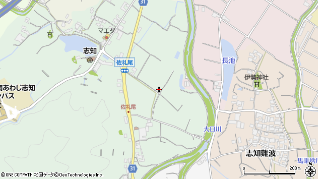 〒656-0484 兵庫県南あわじ市志知佐礼尾の地図