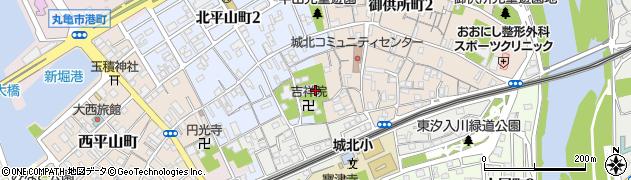 大善院周辺の地図