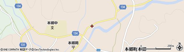 山口県岩国市本郷町本郷(神田)周辺の地図