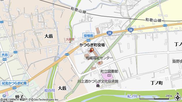 〒649-7100 和歌山県伊都郡かつらぎ町(以下に掲載がない場合)の地図