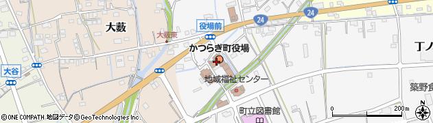 和歌山県伊都郡かつらぎ町周辺の地図