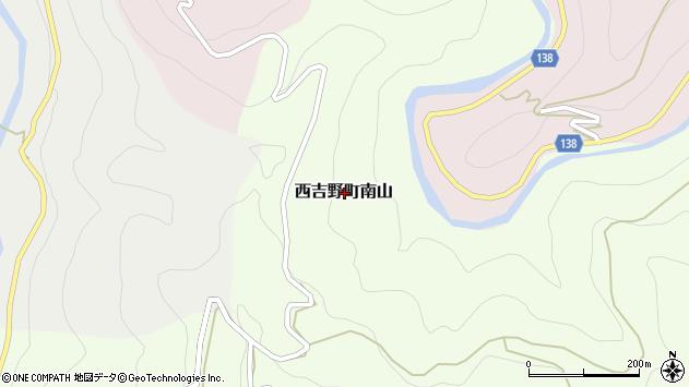 〒638-0654 奈良県五條市西吉野町南山の地図