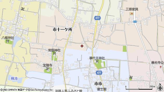 〒656-0471 兵庫県南あわじ市市十一ケ所の地図