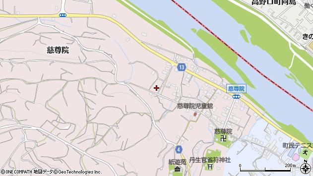 〒648-0151 和歌山県伊都郡九度山町慈尊院の地図
