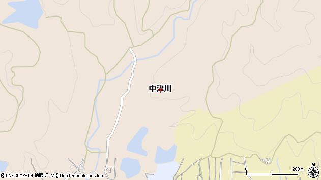 〒649-6513 和歌山県紀の川市中津川の地図