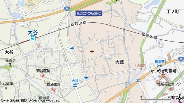 〒649-7171 和歌山県伊都郡かつらぎ町大薮の地図