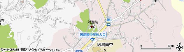 対潮院周辺の地図