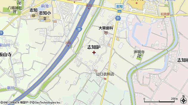 〒656-0322 兵庫県南あわじ市志知鈩の地図