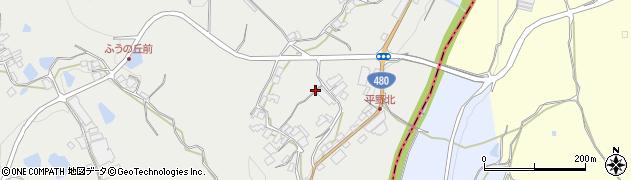 和歌山県紀の川市平野周辺の地図