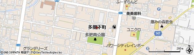 香川県高松市多肥下町周辺の地図