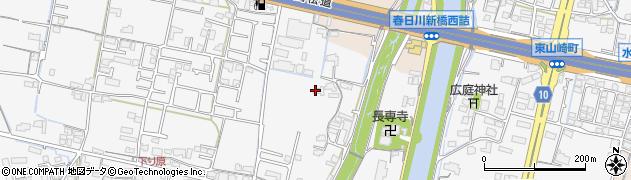 香川県高松市六条町周辺の地図