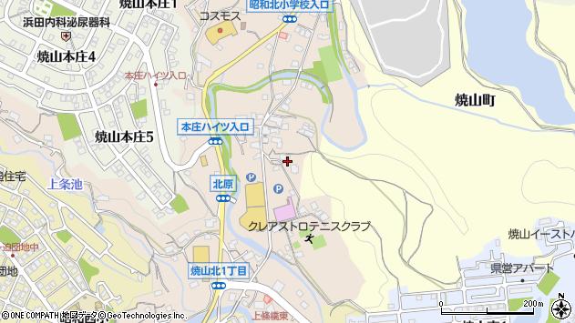 〒737-0911 広島県呉市焼山北の地図
