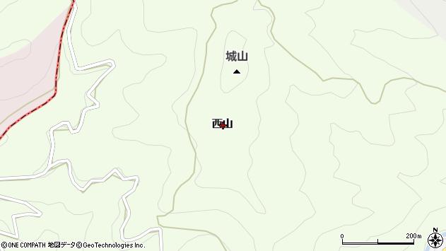 〒638-0026 奈良県吉野郡下市町西山の地図