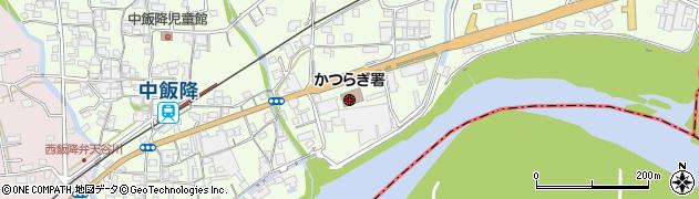 かつらぎ警察署周辺の地図