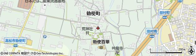 常信寺周辺の地図