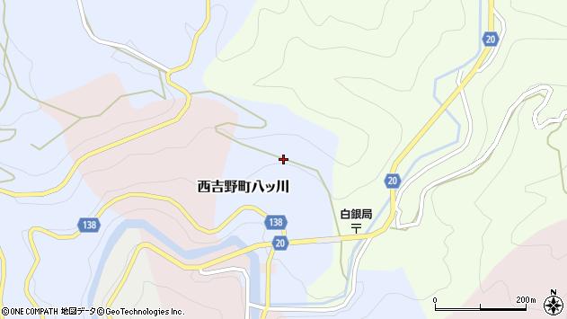 〒638-0657 奈良県五條市西吉野町八ツ川の地図