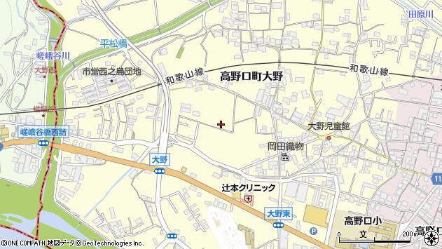 〒649-7207 和歌山県橋本市高野口町大野の地図