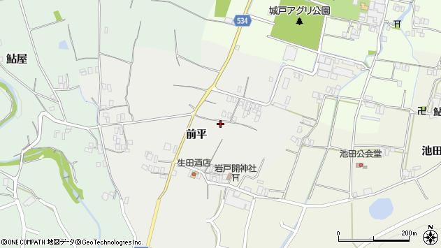 〒656-0044 兵庫県洲本市前平の地図