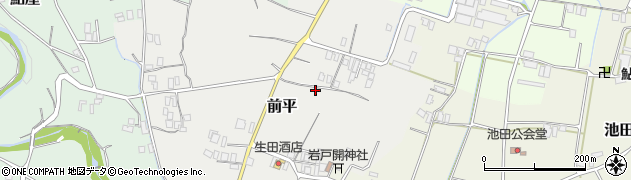 兵庫県洲本市前平周辺の地図