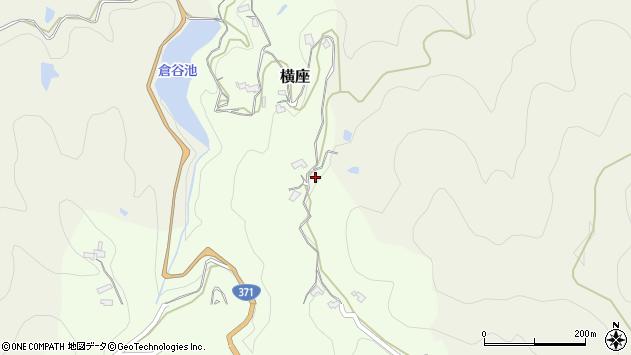 〒648-0036 和歌山県橋本市横座の地図