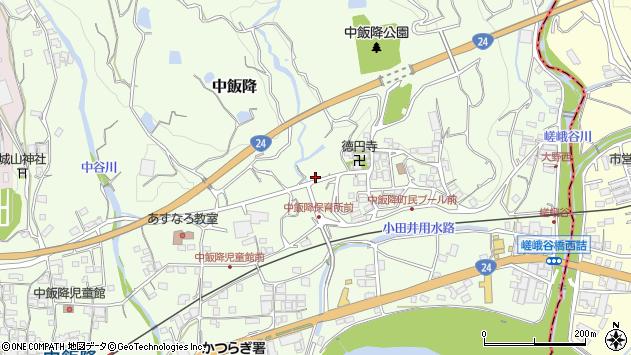 〒649-7112 和歌山県伊都郡かつらぎ町中飯降の地図
